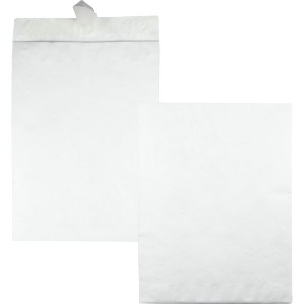 Survivor Tyvek Jumbo Mailer, 14 1/4 x 20, White, 25/Box