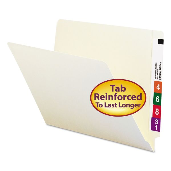 Smead Letter Size End Tab File Folders