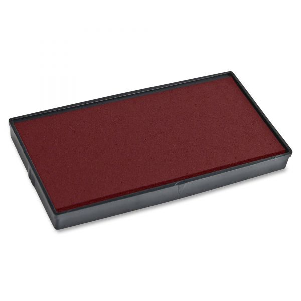 COSCO 2000PLUS Replacement Ink Pad for 2000PLUS 1SI10P, Red