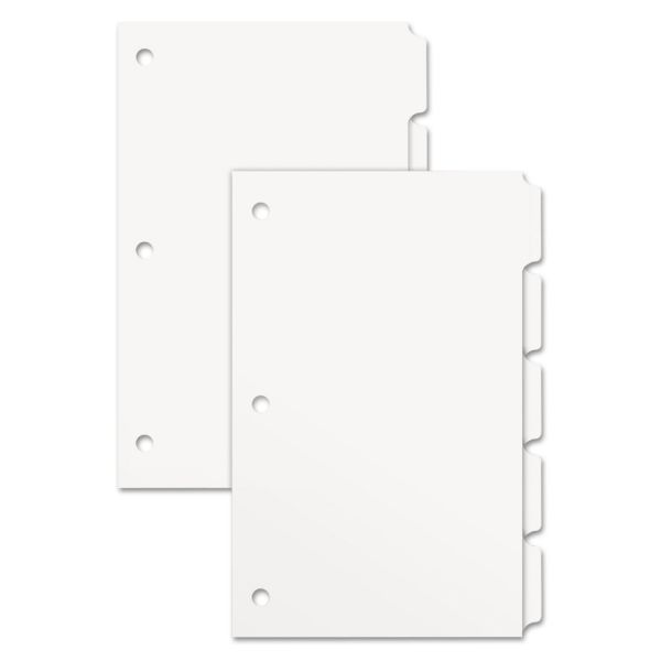 Xerox Single Reverse Collated 5-Tab Copier Dividers