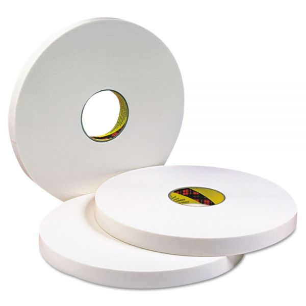 3M 4016 Double Coated Urethane Foam Tape, 1in x 36yd