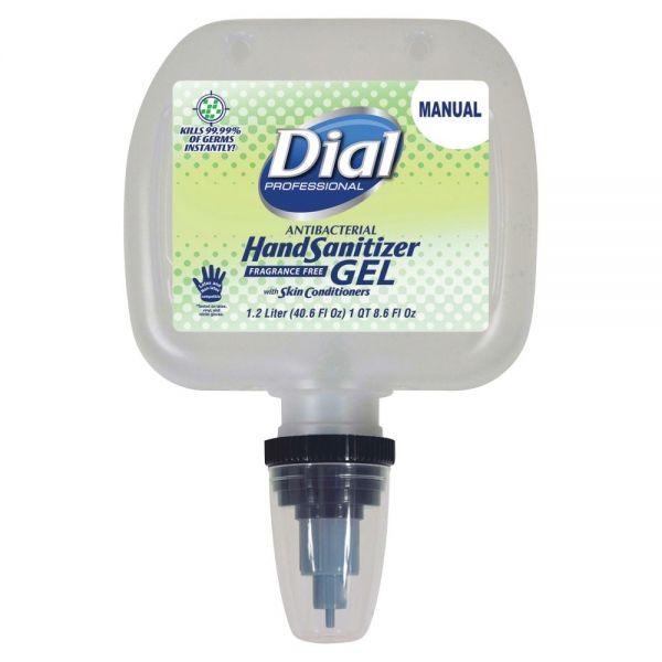 Dial Antibacterial Hand Sanitizer Gel Refills
