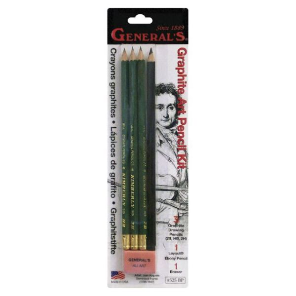 Graphite Art Pencil Set 5pcs