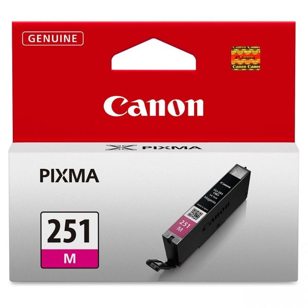 Canon CLI-251M Magenta Ink Cartridge (6515B001)