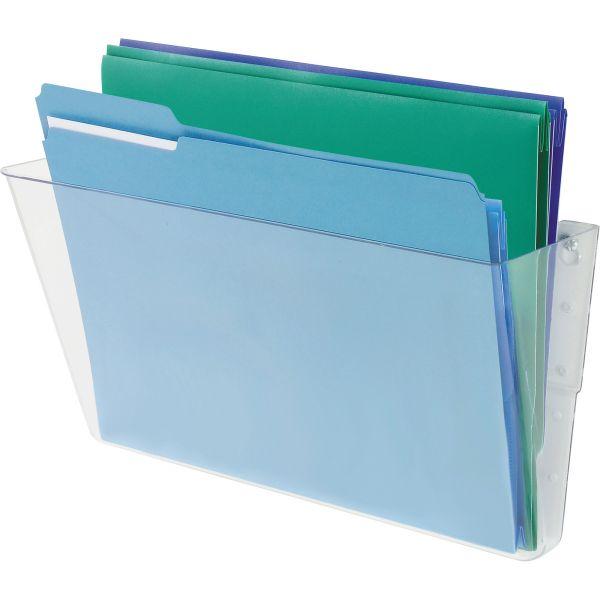 Deflecto Stackable Wall File Pocket