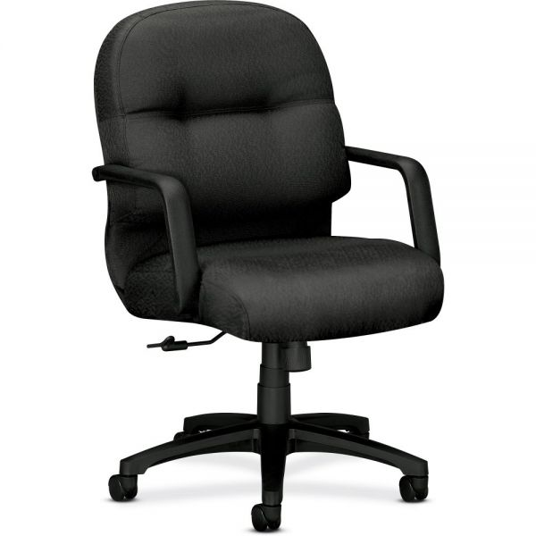 HON Pillow-Soft Mid-Back Task Chair | Center-Tilt