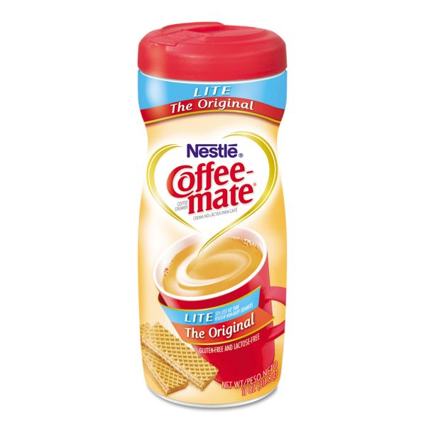 Coffee-mate Original Lite Powdered Creamer, 11oz Canister