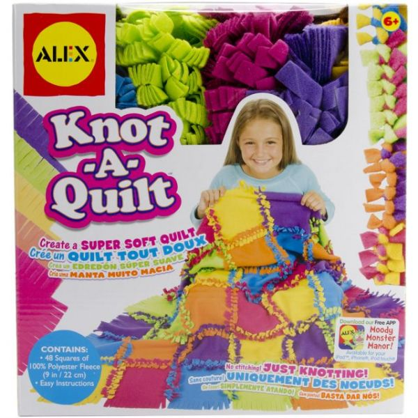 ALEX Toys Knot-A-Quilt Kit