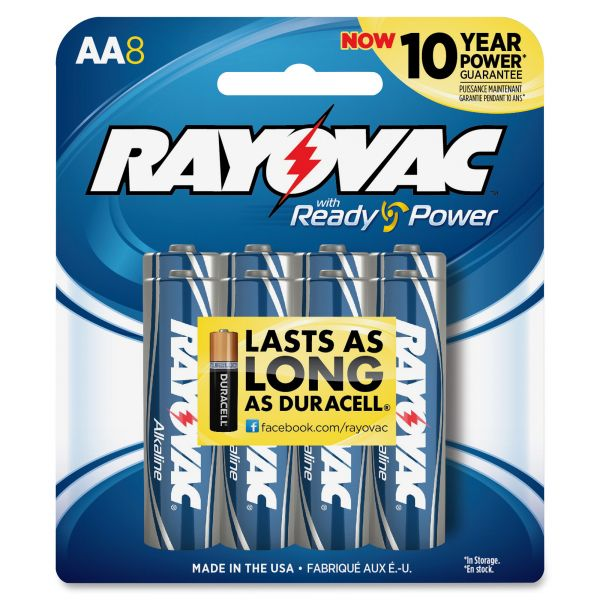 Rayovac Maximum Plus AA Batteries