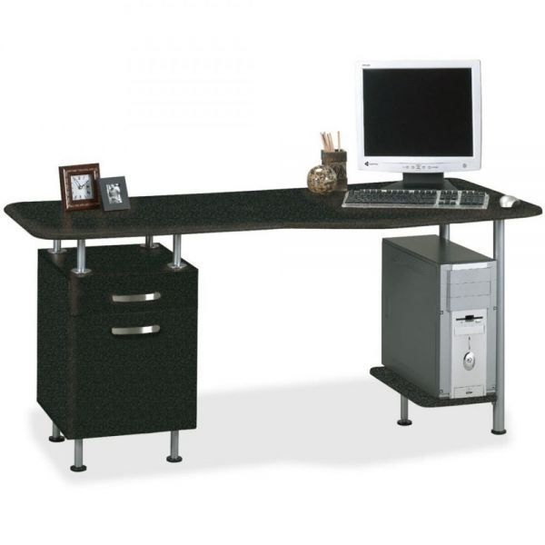 Mayline Compact Box/File Desk Computer Workstation