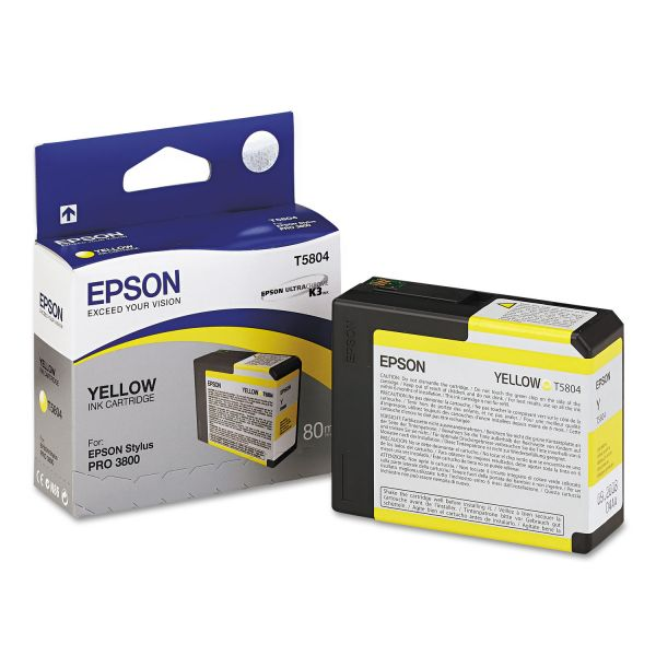 Epson T5804 Yellow Ink Cartridge