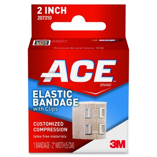 ACE Elastic Bandage with Clips