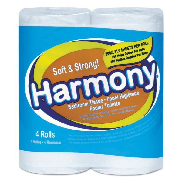 Harmony Soft & Strong 2 Ply Toilet Paper