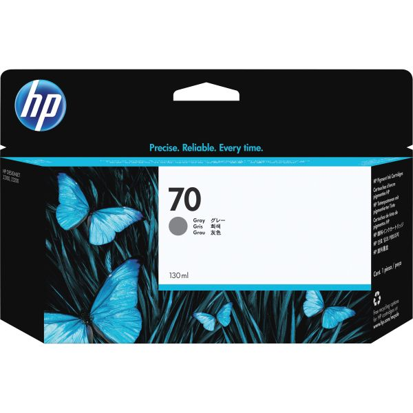 HP 70 Gray Ink Cartridge (C9450A)