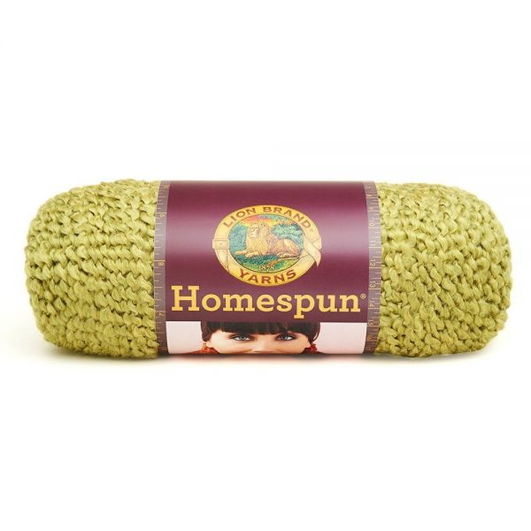 Lion Brand Homespun Yarn - Apple Green