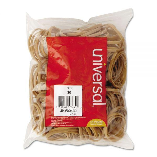 Universal #30 Rubber Bands (1/4 lb)