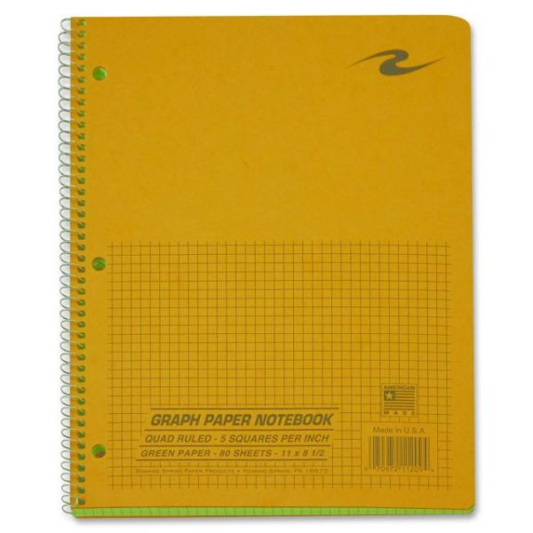 Roaring Spring Wirebound Quad Notebook