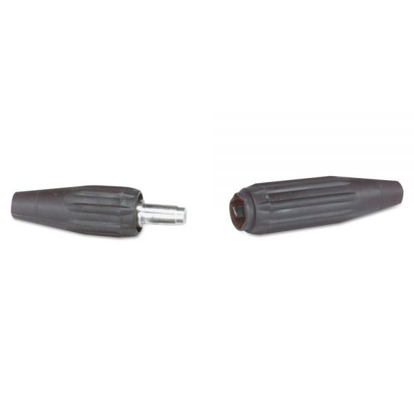 Jackson Safety* QUIK-TRIK Cable Connector For Use With Cables 1/0 & 2/0, Black