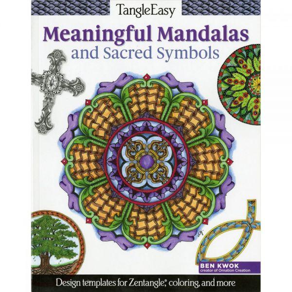 Design Originals: TangleEasy Meaningful Mandalas Coloring Book