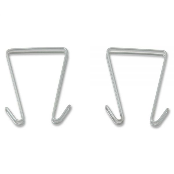 Lorell Industrial Wire Shelving Double Sided Hooks