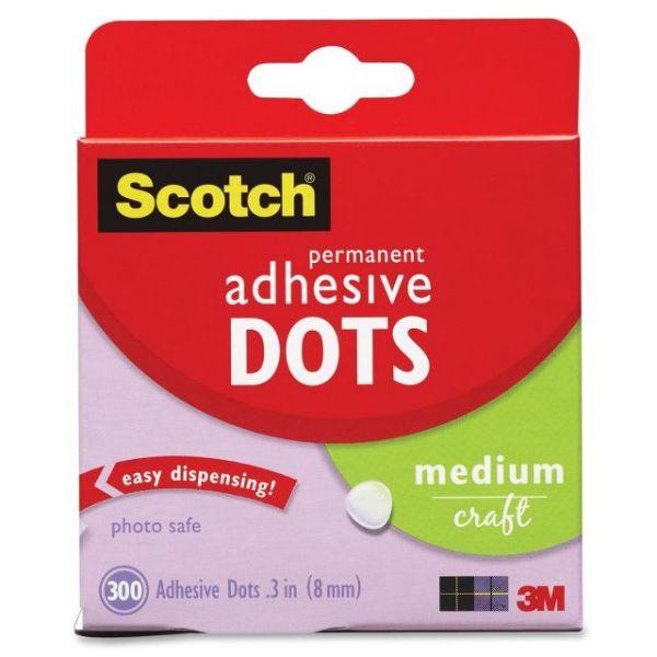 Scotch Medium Craft Permanent Adhesive Dots