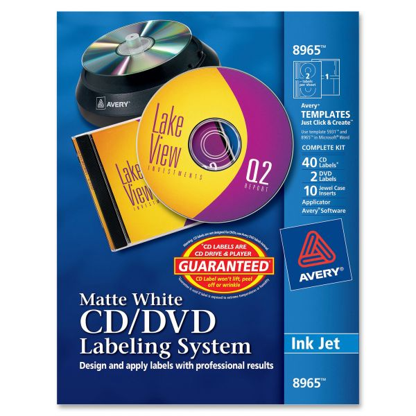 Avery CD/DVD Labeling System