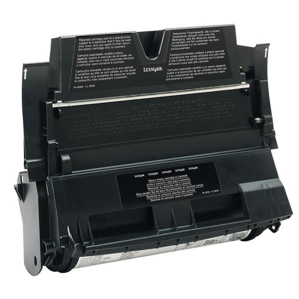 Lexmark 12A6839 Black High Yield Return Program Toner Cartridge