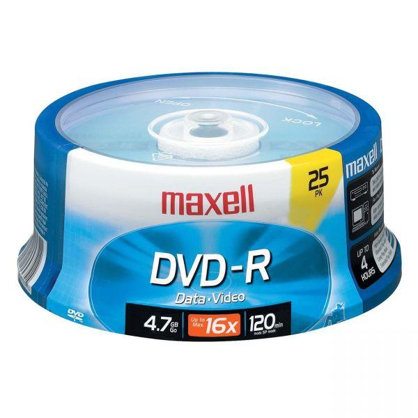 Maxell Recordable DVD Media