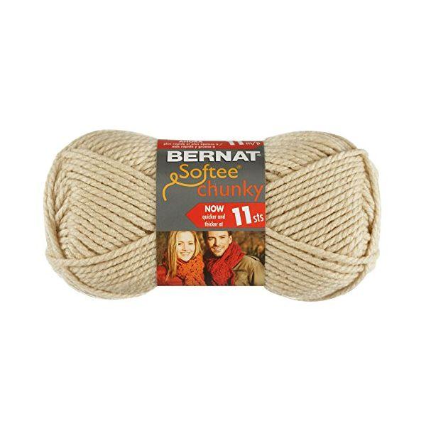 Bernat Softee Chunky Yarn - Linen