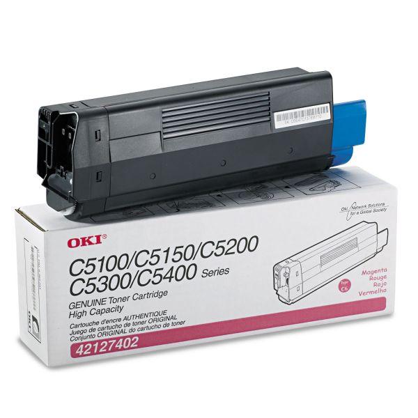 Oki 42127402 Magenta Toner Cartridge