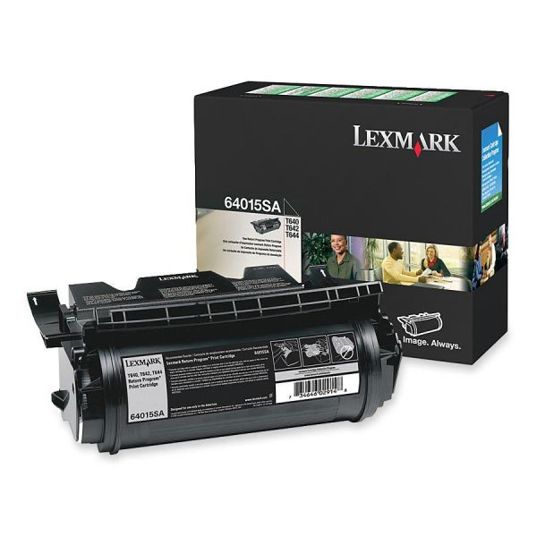 Lexmark 64015SA Black Return Program Toner Cartridge