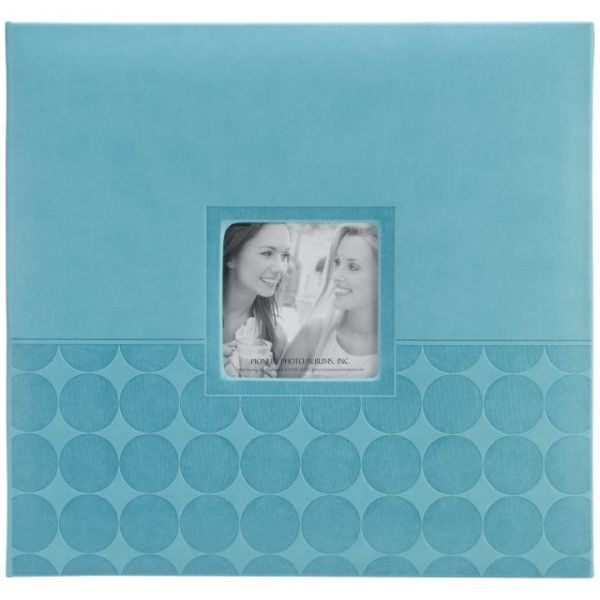 "Embossed Post Bound Scrapbook Album 12""X12"""
