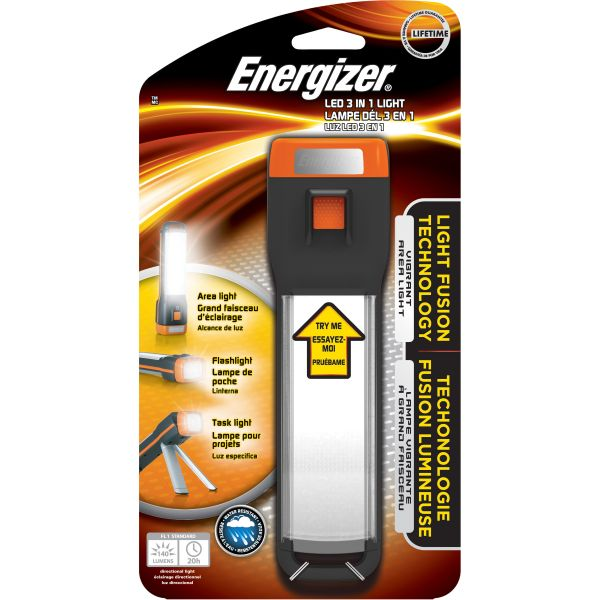 Energizer Fusion 3-in-1 LED Flashlight