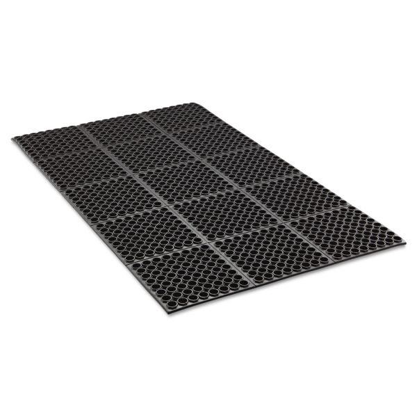 Crown Safewalk Heavy-Duty Anti-Fatigue Drainage Floor Mat