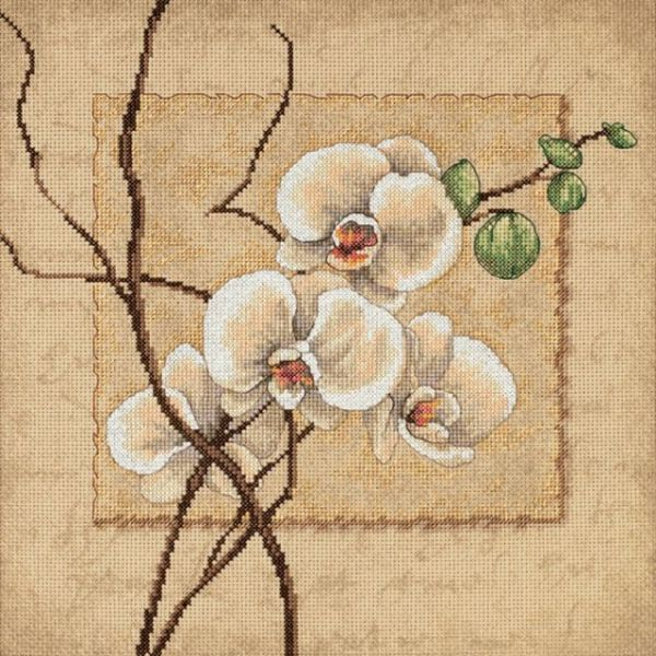 Dimensions Oriental Orchids Counted Cross Stitch Kit