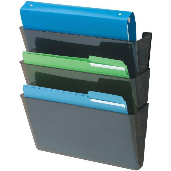 Deflect-o DocuPocket Wall File Pockets