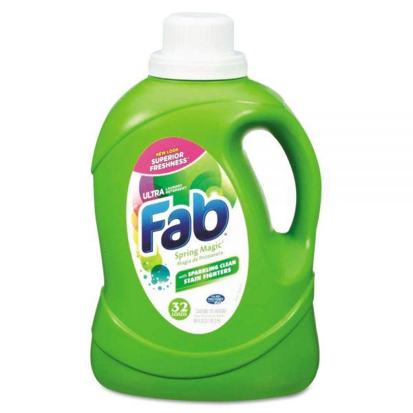 Fab Ultra HE Liquid Laundry Detergent