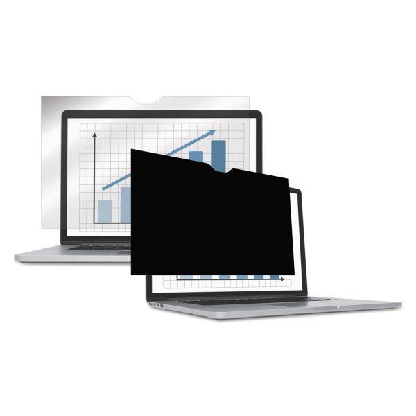 Darkens side-view to prevent prying eyes from reading your monitor
