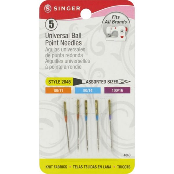 Universal Ball Point Machine Needles