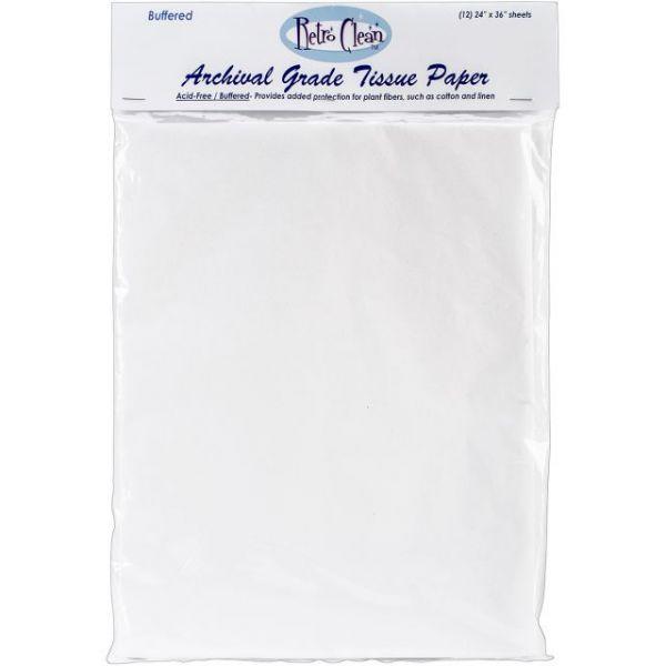 Archival Grade Tissue Paper - Buffered