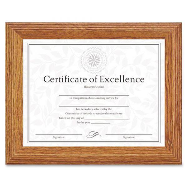 DAX Stepped Oak Picture/Certificate Frame
