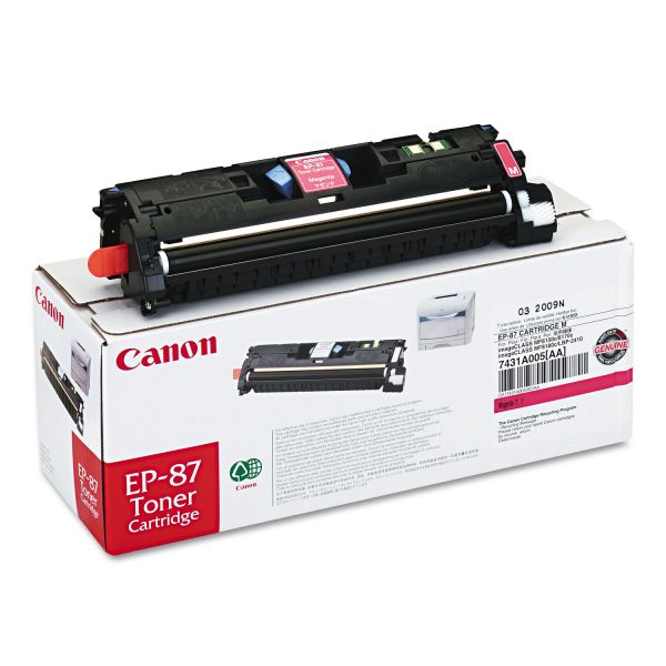 Canon EP-87 Magenta Toner Cartridge