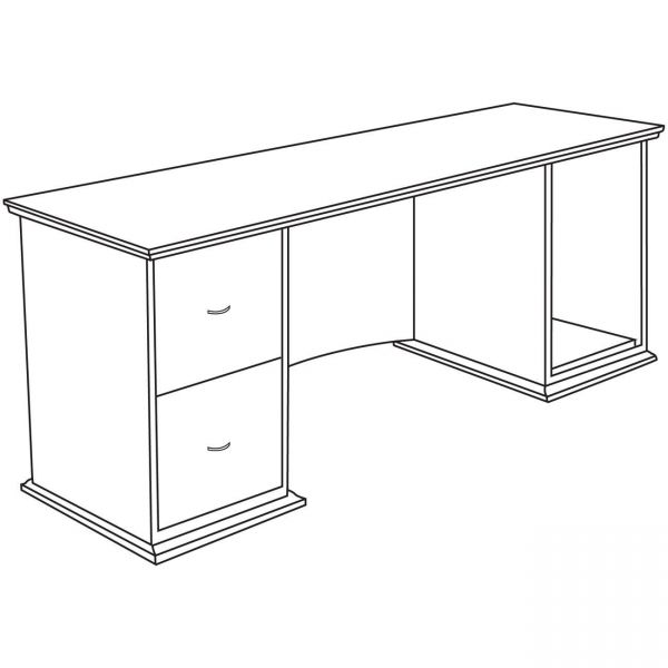 Lorell Contemporary 9000 Office Desk