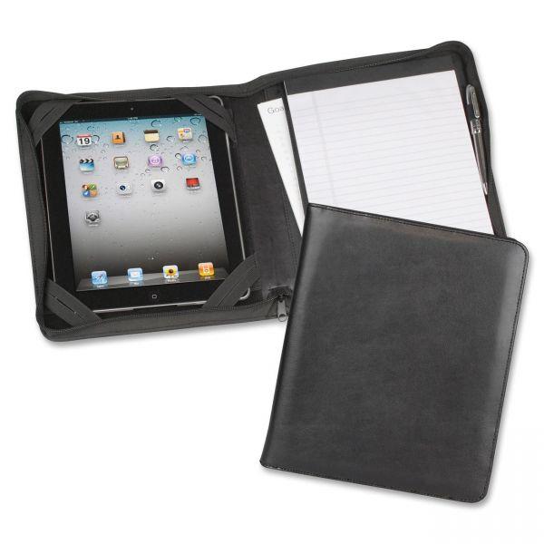 Samsill iPad Zippered Composition Pad Folio
