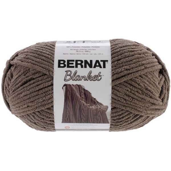 Bernat Blanket Big Ball Yarn - Taupe