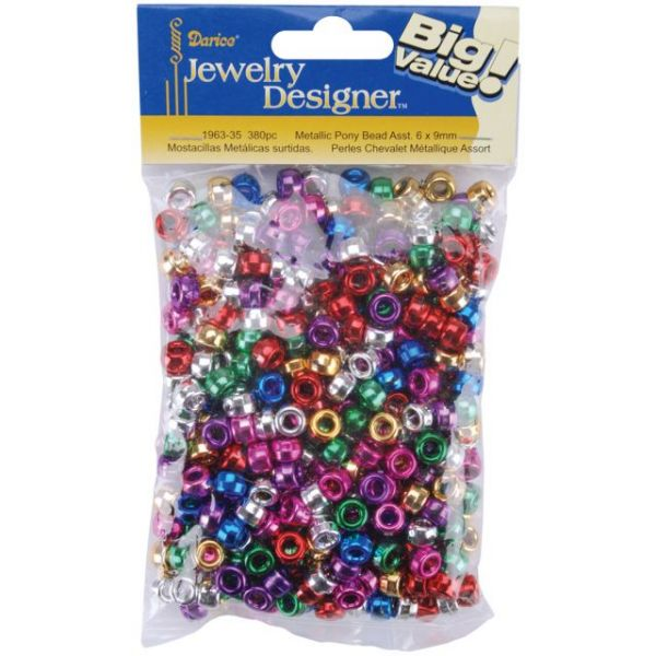 Darice Jewelry Designer Pony Beads