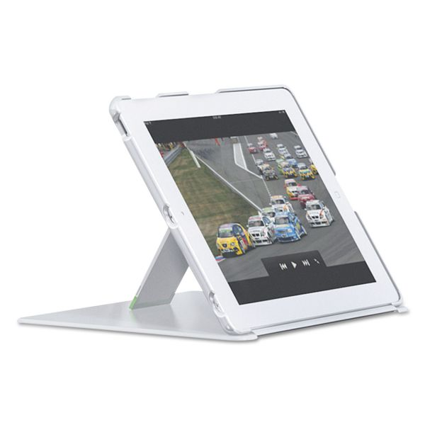 Leitz iPad Cover with Stand for iPad 2/3rd Gen/4th Gen, White