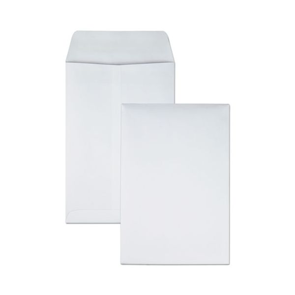 Quality Park Redi Seal Catalog Envelope, 6 1/2 x 9 1/2, White, 100/Box