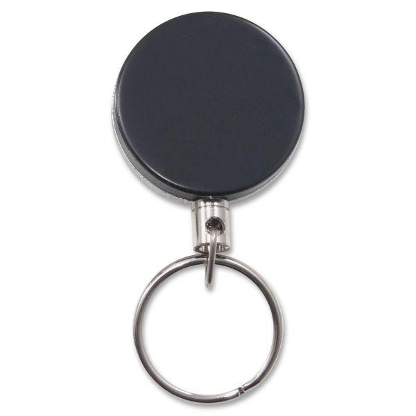 Advantus Heavy-Duty Steel Retractable ID Card Reels