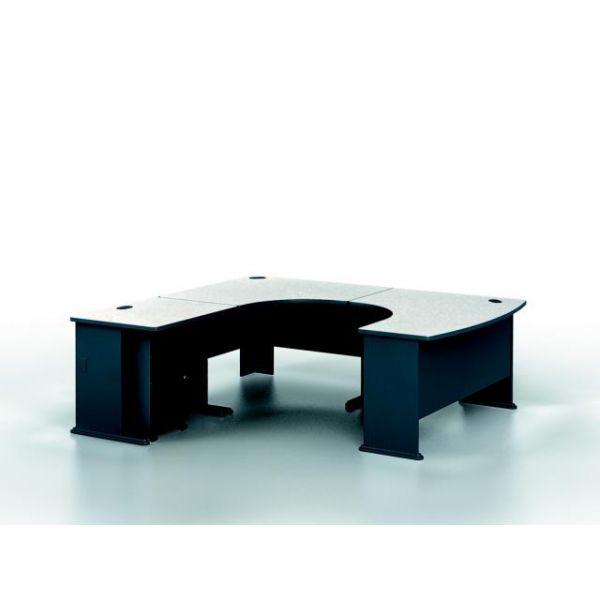 Bush Furniture Series A Professional Configuration - Slate finish